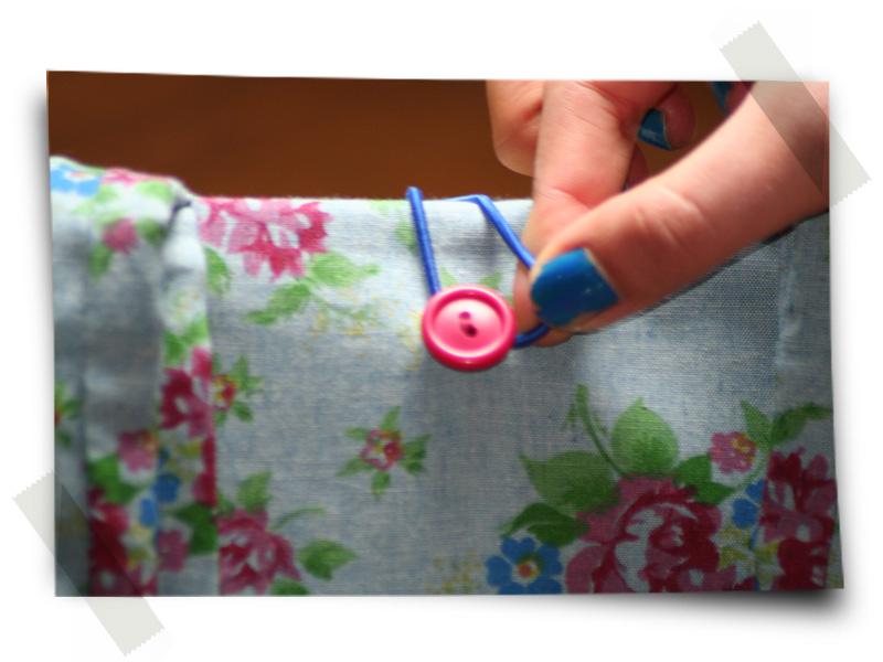 Azul Franela - Detalle Botón