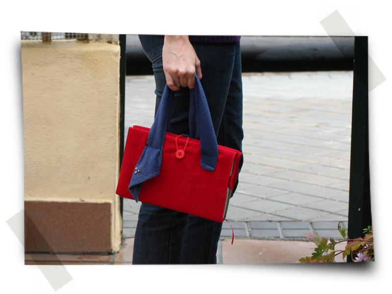 Pana Rojo - Detalle bolso